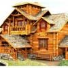 Самые популярные материалы для деревянных домов