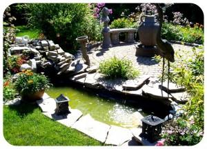Основные элементы ландшафтного дизайна двора