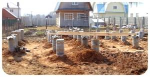 подготовка фундамента дома
