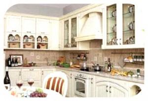 красивая кухня в итальянском стиле