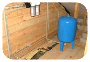 водопровод в деревянном доме