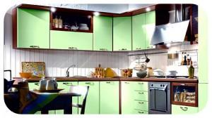 декупаж для декора кухонной мебели