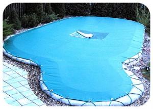 защитный чехол для бассейна
